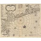 3251   Jacob Theunisz : Paescaerte vande Eems, Elve  1663