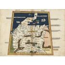 3255   Ptolemäus, Claudius: Magna Germania  1486