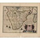 3263   Janssonius, Johannes : Aethiopia inferior, vel Exterior Partes magis Septentrionalis  1658