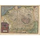 3266   Jode, Gerard de : Germaniae Totius, Nostrae Europae Celeberrimae Regionis, Descriptio Singularis  1593