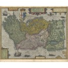 3268   Ortelius, Abraham: Irlandiae Accurata Descriptio  1612