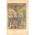 3273   Ortelius, Abraham: Aegypti Recentior Descriptio / Carthaginis Celeberrimi Sinus Typus  1570