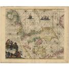 3274   Ottens, Reinier und Josua: Daniae, Frisiae, Groningae et Orientalis Frisiae Littora. 1745