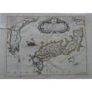 3286   Coronelli, Vincenzo Maria: Isola Del Giapone Penisola Di Corea  1691
