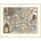 3294   Blaeu, Willem: Tabula Russiae  1664