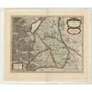 3297   Waesberghen, Janssonius van: Nova Alemanniae sive SveviaeSuperioris Tabula  1680