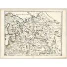 3301   Duval: Moscovie dite Autrement Grande et Blanche Russiae  1670
