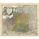 3305   Homann, Johann Baptist: Regni Poloniae Magnique Ducat. Lithuaniae  1739