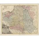 3317   Hutter, F.X. bei Walch: Charte des Koenigreichs Polen  1793