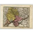 3345   Seutter, Matthias: Nova et accurata Turcicarum et Tartaricarum Provinciarum, intra fluvios  1744