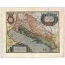 3349   Ortelius, Abraham: Pannoniae, et Illyrici Veteris Tabula  1590