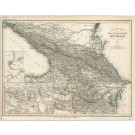 3352   Bibliographisches Institut : Karte des Kaukasischen Isthmus  1856
