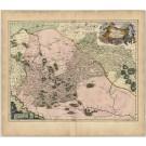 3353   Blaeu, Joan: Ukrainae Pars Quae Barclavia Palatinatus Vulgo Dictur  1659