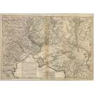3354   Longchamps: Nouveau Théatre de la Guerre entre les Russes les Turcs et les Polonois Confédérés  1769