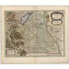 3364   Hondius, Henricus: Nova Alemanniae sive Sveviae Superioris Tabula  1636