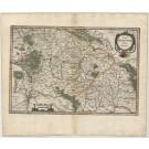 3368   Janssonius, Johannes / Mercator, Gerard: Totius Franconiae Nova Descriptio  1636