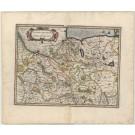 3370   Janssonius, Johannes / Mercator, Gerard: Saxonia inferior et Meklenborg Duc.  1636