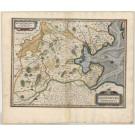 3376   Janssonius, Johannes: Oldenburg Comitatus  1636