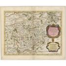 3381   Jaillot, Hubert / Sanson: Le Duché de Westphalie  1636