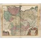 3386   Covens & Mortier nach Wit, Frederick de: Circulus Saxoniae Inferioris  ca. 1730