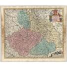 3387   Covens & Mortier nach Wit, Frederick de: Regnum Bohemia  ca. 1730
