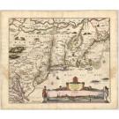 3419   Visscher, Nicolaus: Novii Belgii Novaeque Angliae nec non Partis Virginiae Tabula  1684