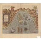 3424   Linschoten, Jan Huygen van: Insulae et arcis Mocambique descriptio…  1596