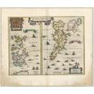 3442   Janssonius, Johannes: Orcadum et Schetlandiae Insularum accuratissima descriptio.