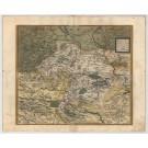 3459  Ortelius, Abraham: Mansfeldiae Comitatus Descriptio 1573