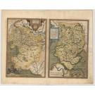 3460  Ortelius, Abraham: Hennebergensis Dictionis/Hassiae Descriptio, 1594