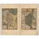 3462   Ortelius, Abraham: Thuringiae Noviss. Descript/Misniae et Lusatiae Tabula, 1573