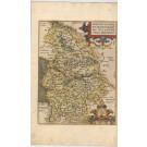 3467  Ortelius, Abraham: Braunsvicensis, et Luneburgensis Ducatuum vera Delineat. 1590