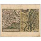 3469   Ortelius, Abraham: Palatinatus Bavariae Descriptio/Argentoratensis Agri Descriptio, 1584