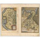 3473 Ortelius, Abraham: Thietmarsiae, Holsaticae Regionis Partis Typus / Oldenburg Comit. 1595