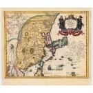 3800  Merian, Mattheus: China Veteribus Sinarum regio nunc Incolis Tame dicta 1660