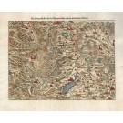 3808  Münster, Sebastian: Die Eydtgnossenschafft / oder das Schwytzerlandt / mit den anstossenden Ländern 1578