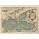 3814  Ortelius, Abraham: Pontus Euxinus Aequor Iasonio pulsatum remige primum 1590