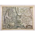 5030  Mejer, Johannes; Blaeu, Joan: Praefectura Tondern sine Lundtofft Herde.